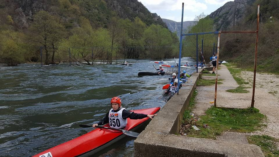 Croatians show their strength at the first ECA Wildwater