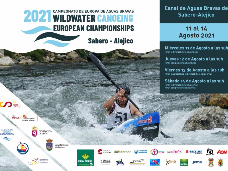Sabero is ready for the 2021 ECA Wildwater Canoeing European Championships
