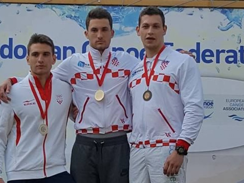 Croatians show their strength at the first ECA Wildwater Sprint Canoeing European Cup of the year