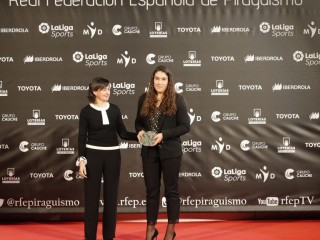 Carlos Garrote and Teresa Portela Spanish paddlers of the year