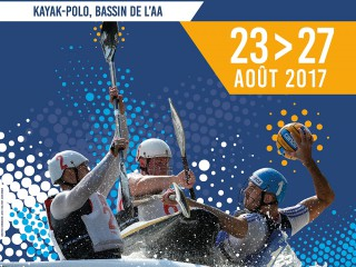 19 European nations will fight for Canoe Polo European Champion titles in Saint-Omer