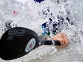 Penultimate canoe slalom race for young Canoe slalom paddlers in season 2019