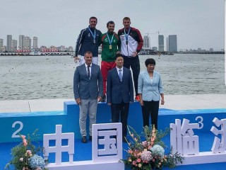 European Champions Fernando Pimenta and Martin Fuksa win at special canoe sprint race in China