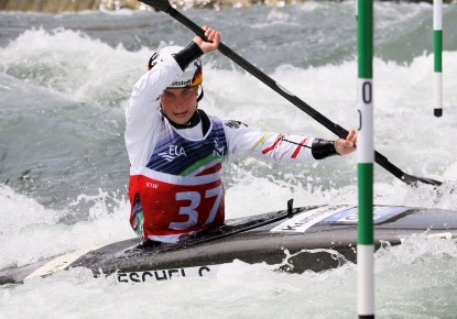 Cindy Poeschel and Giovanni De Gennaro the fastest on the opening day of European Championships in Ivrea