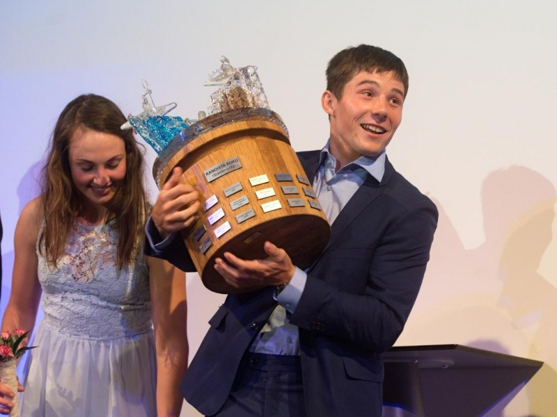Jiri Prskavec Czech wildwater paddler of the year