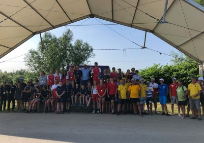 Young paddlers showed their skills in Krakow