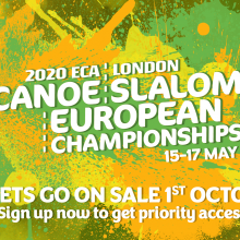 2020 ECA Canoe Slalom European Championships - London CANCELLED