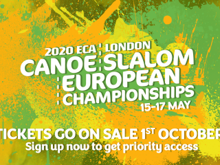 Get your 2020 ECA Canoe Slalom European Championships tickets in a pre-sale