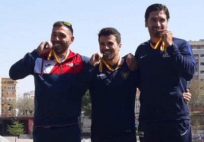 European Championships medallists win in Seville