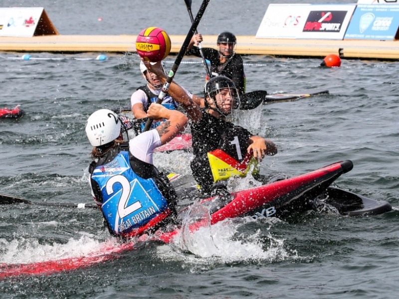 Germany wins three Canoe Polo World Champion titles, Great Britain one