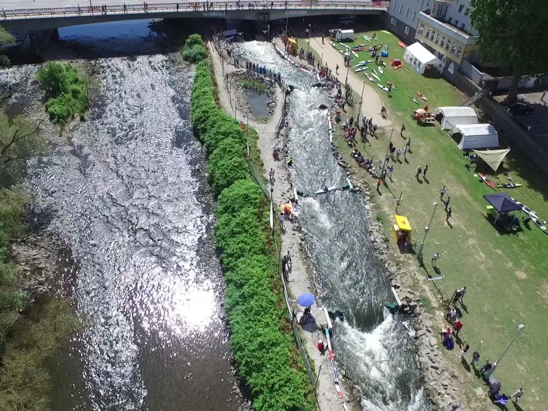 Hohenlimburg awaits best young European Canoe Slalom Paddlers