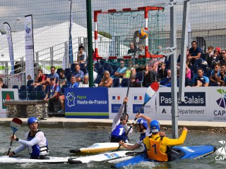 Canoe Polo European Championships brought the first 64 matches