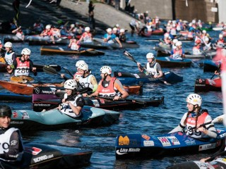 Krumlov River Marathon attracted paddlers from 24 countries
