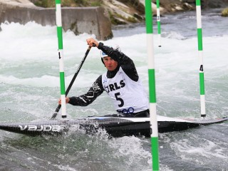 Favourites among the best in the heats of the ECA European Open Canoe Slalom Cup in Slovenia