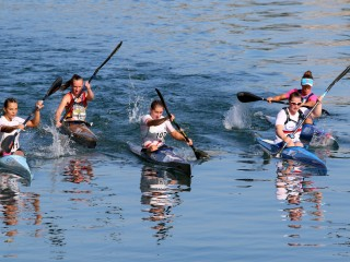 Russell, Horanyi, Fajta, Czellai –Voros and Foley first Canoe Marathon European Champions in 2018