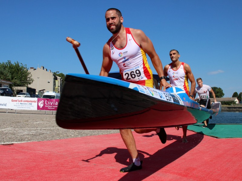 Kiszli – Mihalik, Romero – Grana and Boros - Solti win the remaining gold medals of the 2018 ECA Canoe Marathon European Championships