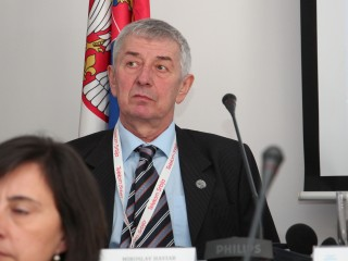 Award for ECA vice-president Miroslav Haviar