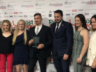 Paracanoe team and Henshaw awarded in Nottingham