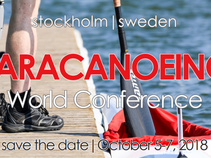 Sweden to host paracanoeing conference