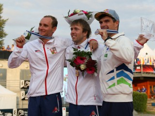 Czech Republic tops the medal table of the Canoe Slalom World Championships in France