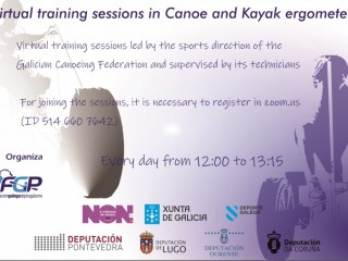 Galician Canoe Federation invites you all to participate in online training programme