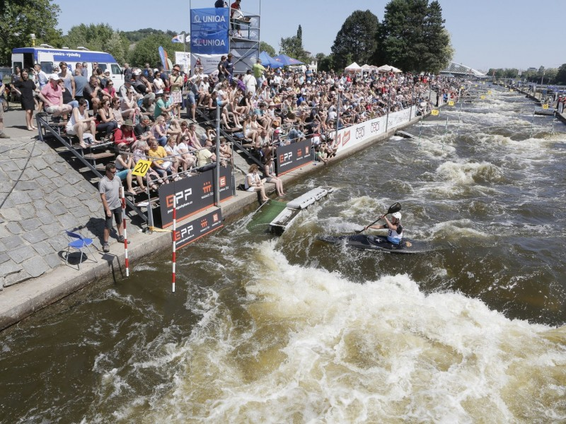 Prague is ready to host the 2018 ECA Canoe Slalom European Championships