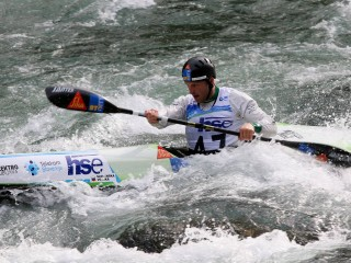 World Champion Nejc Žnidarčič the fastest on Kolpa River