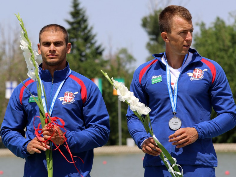Milenko Zorić and Marko Tomičević Serbian athletes of the year